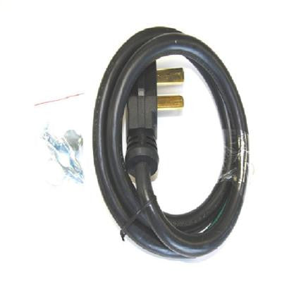 4 ft. 4-Prong Range Cord for Freestanding Electric Ranges