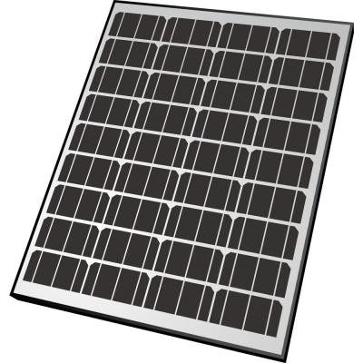85-Watt Monocrystalline Solar Panel for 12-Volt Charging