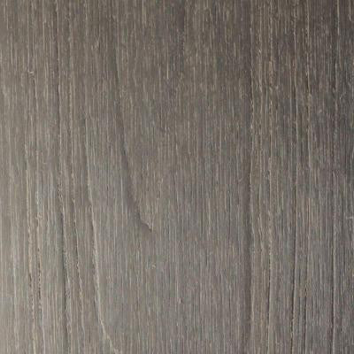 UltraShield Naturale Voyager 8/9 in. x 5-1/2 in. x 0.5 ft. Hollow Composite Decking Board Sample in Egyptian Stone Gray