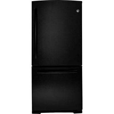20.3 cu. ft. Bottom Freezer Refrigerator in Black