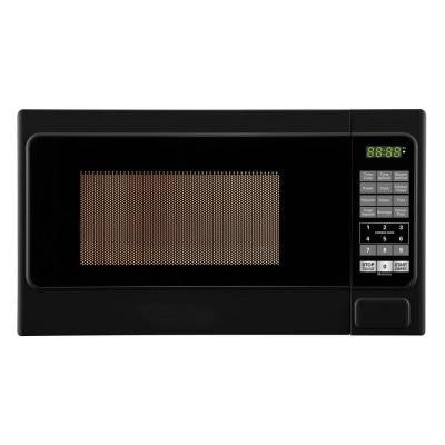 0.7 cu. ft. 700 Watt Countertop Microwave Oven in Black