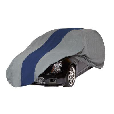 Double Defender Station Wagon Semi-Custom Car Cover Fits up to 15 ft. 4 in.