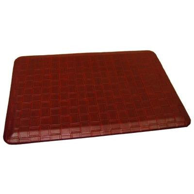 Rhino Comfort Craft Catmandoo Ochre 24 in. x 72 in. Poly-Urethane Blended Anti-Fatigue Mat