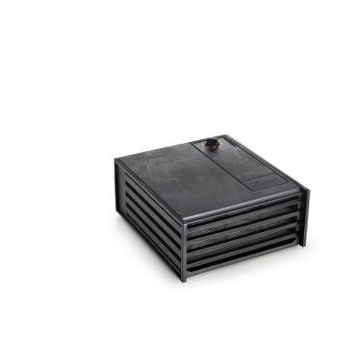 4 Tray Food Dehydrator in Black