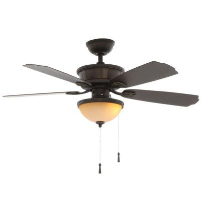 Umber 46 in. Oil Rubbed Bronze Outdoor Ceiling Fan