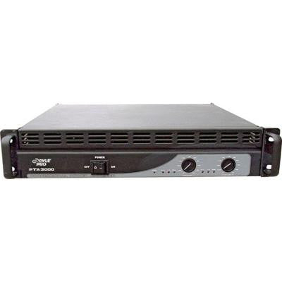 Rack Mount 3000-Watt Professional Power Amplifier