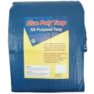 8 ft. x 10 ft. Blue Tarp