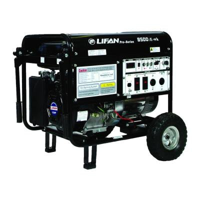 Pro-Series 8,500-Watt 420 cc Gasoline Powered Electric Start Protable Generator
