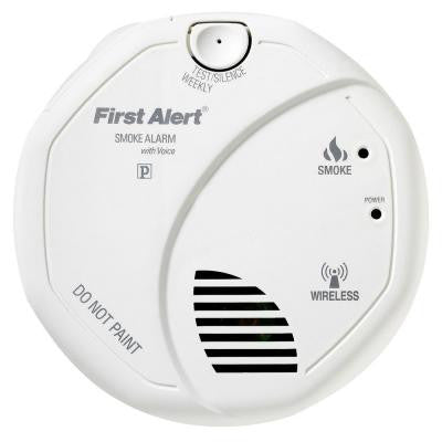 Onelink Wireless Interconnect Smoke Detector with Voice Alarm