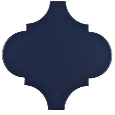 Provenzale Lantern Bleu 8 in. x 8 in. Porcelain Floor and Wall Tile (1.08 sq. ft. / pack)