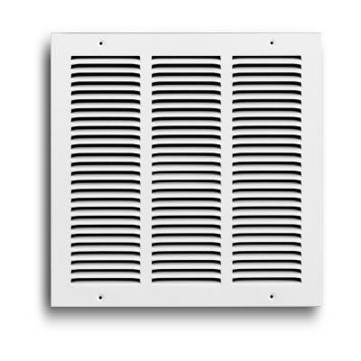 12 in. x 12 in. White Return Air Grille