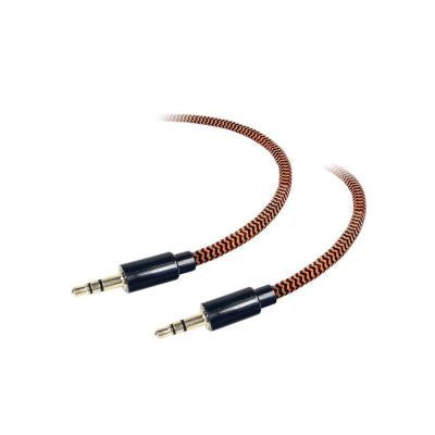 6 ft. 3.5 mm Auxiliary Braided Fabric Cable