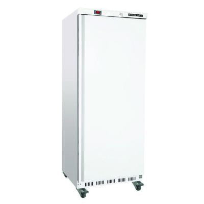 23 cu. ft. Single Door Commercial Reach-In Freezer in White