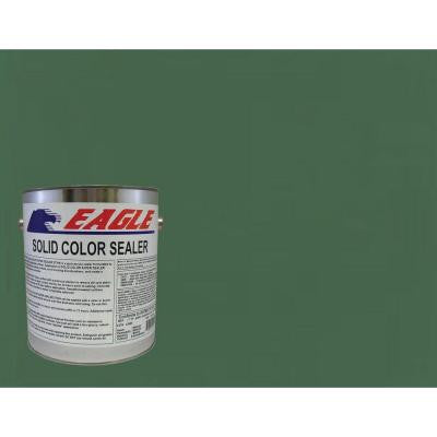 1 gal. Patio Green Solid Color Solvent Based Concrete Sealer
