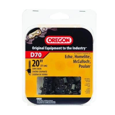D70 20 in. Chainsaw Chain
