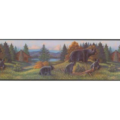 9 in. Black Bear Border