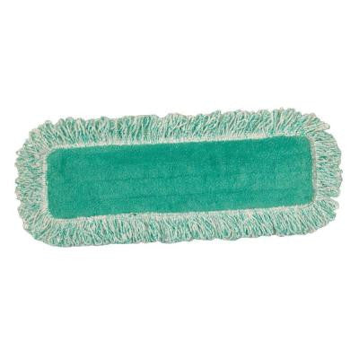 18 in. Standard Microfiber Dust Mop with Fringe (Case of 12)