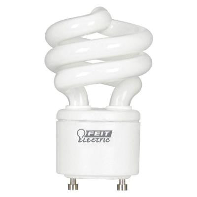 60W Equivalent Soft White (2700K) GU24 Spiral CFL Light Bulb