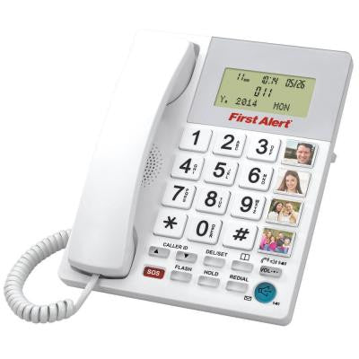Big Button Digital Telephone with Emergency Key