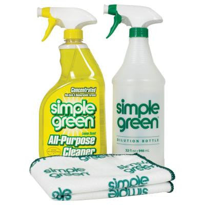 Lemon Scent 32 oz. Daily Cleaning Kit
