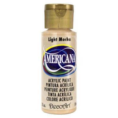 Americana 2 oz. Light Mocha Acrylic Paint