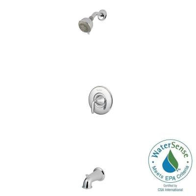 Pasadena Single-Handle 3-Spray Tub and Shower Faucet in Polished Chrome