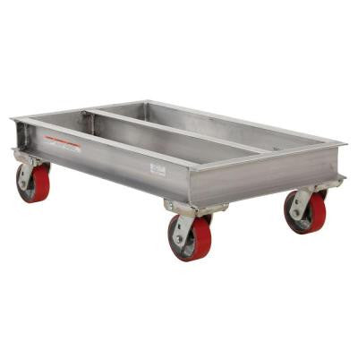 2,000 lb. 40 in. x 42 in. Aluminum Channel Dolly