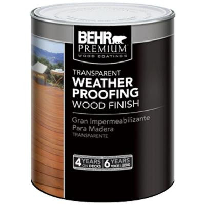 1-qt. Cedar Naturaltone Transparent Weatherproofing Wood Finish
