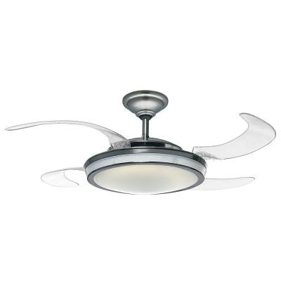 Fanaway 48 in. Indoor Brushed Chrome Ceiling Fan