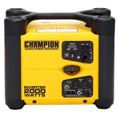 1,700/2,000-Watt Recoil Start Gasoline Powered Portable Inverter Generator