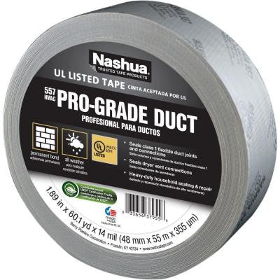 1.89 in. x 60 yds. 557 Pro-Grade UL Listed Duct Tape
