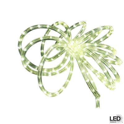 18 ft. 12-watt Clear LED Rope Light Kit