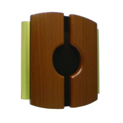 Wired Door Chime with Wood Cover and Side Tubes