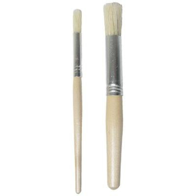 3/8 in. and 3/4 in. Stencil Brush Set