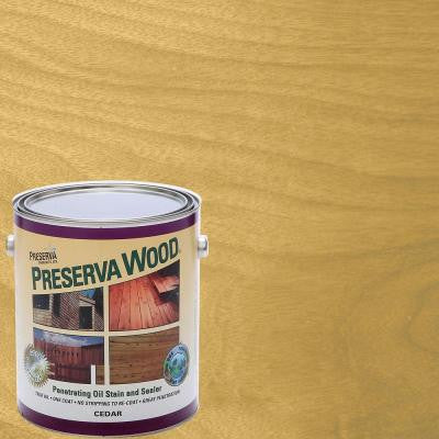 1 gal. Oil-Based Cedar Penetrating Stain and Sealer
