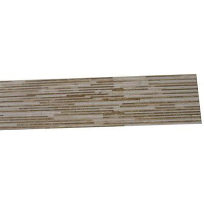 Great Napoleon 6 in. x 24 in. x 10 mm Marble Floor and Wall Tile