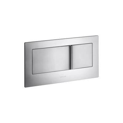 Veil Flush Actuator Plate in Brushed Chrome