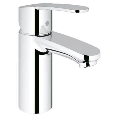 Eurostyle Cosmopolitan Single Hole Single Handle Low-Arc Bathroom Faucet in StarLight Chrome