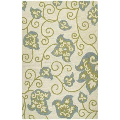 Carriage Columbia Ivory 3 ft. x 5 ft. Area Rug