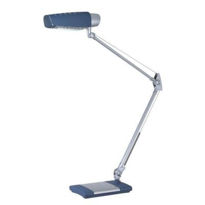 1-Light Desk Lamp Blue Finish