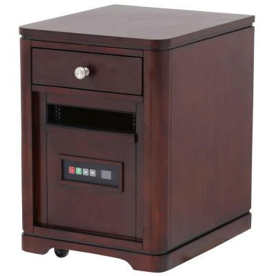 1500-Watt Infrared Portable Heater - Midnight Cherry