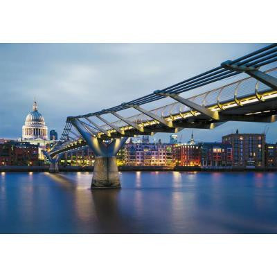 100 in. x 145 in. Millennium Bridge Wall Mural