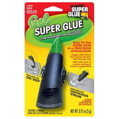 .17 oz. Glue Gel Accutool Precision Applicator (12-Pack)