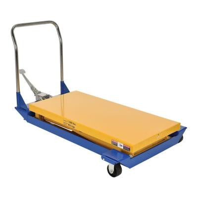 1,000 lb. 48 in. x 24 in. Foot Pump Scissor Cart