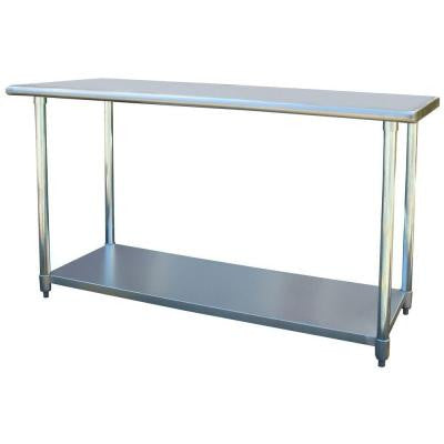 24 in. x 60 in. Stainless Steel Utility Work Table