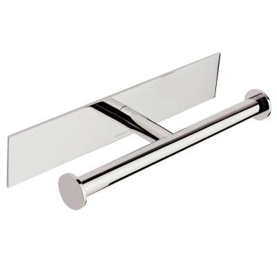 Surface Single Post Toilet Paper Holder in Polished Chrome