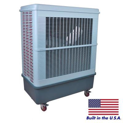 8,500 CFM 2-Speed Portable Evaporative Cooler for 2,100 sq. ft.