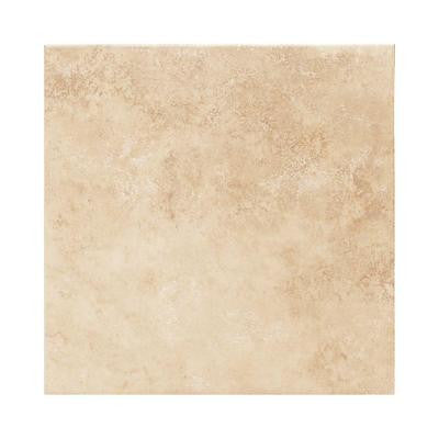 Salerno Nubi Bianche 6 in. x 6 in. Glazed Ceramic Bullnose Wall Tile