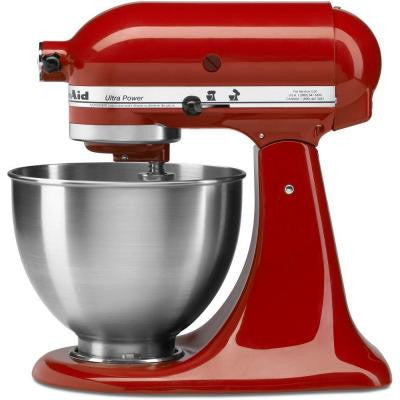 Ultra Power 4.5 Qt. Stand Mixer in Empire Red