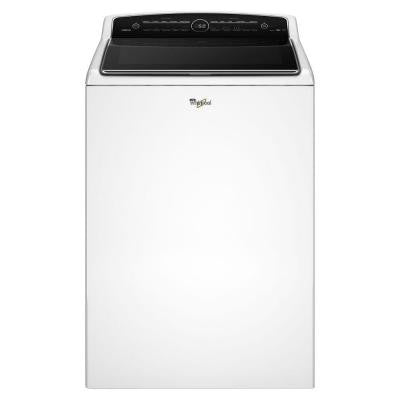 Cabrio 4.8 cu. ft. High-Efficiency Top Load Washer with Steam in White, ENERGY STAR